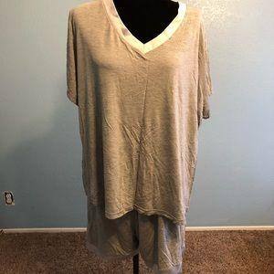 Other - 2XL Gray Pajama Set